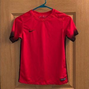 Nike soccer jersey.